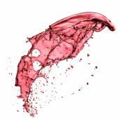 κόκκινο κρασί βουτιά — Φωτογραφία Αρχείου