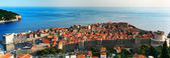 Dubrovnik, a Croatian city on the Adriatic Sea. — Stock Photo