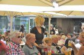 Restaurant-terrasse — Stockfoto