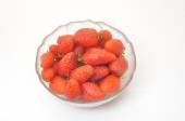Strawberry in a ramekin — Stock Photo