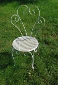 Garden chairs in summer — Stockfoto