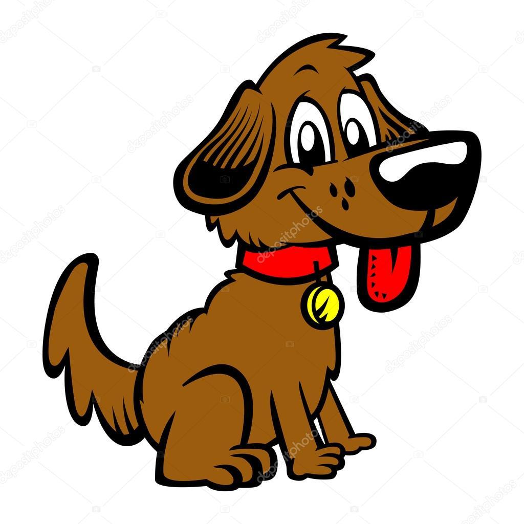 K pek yavrusu k pek izgi film vekt r izim stok vekt r briangoff 100372090 - Image de chien dessin ...