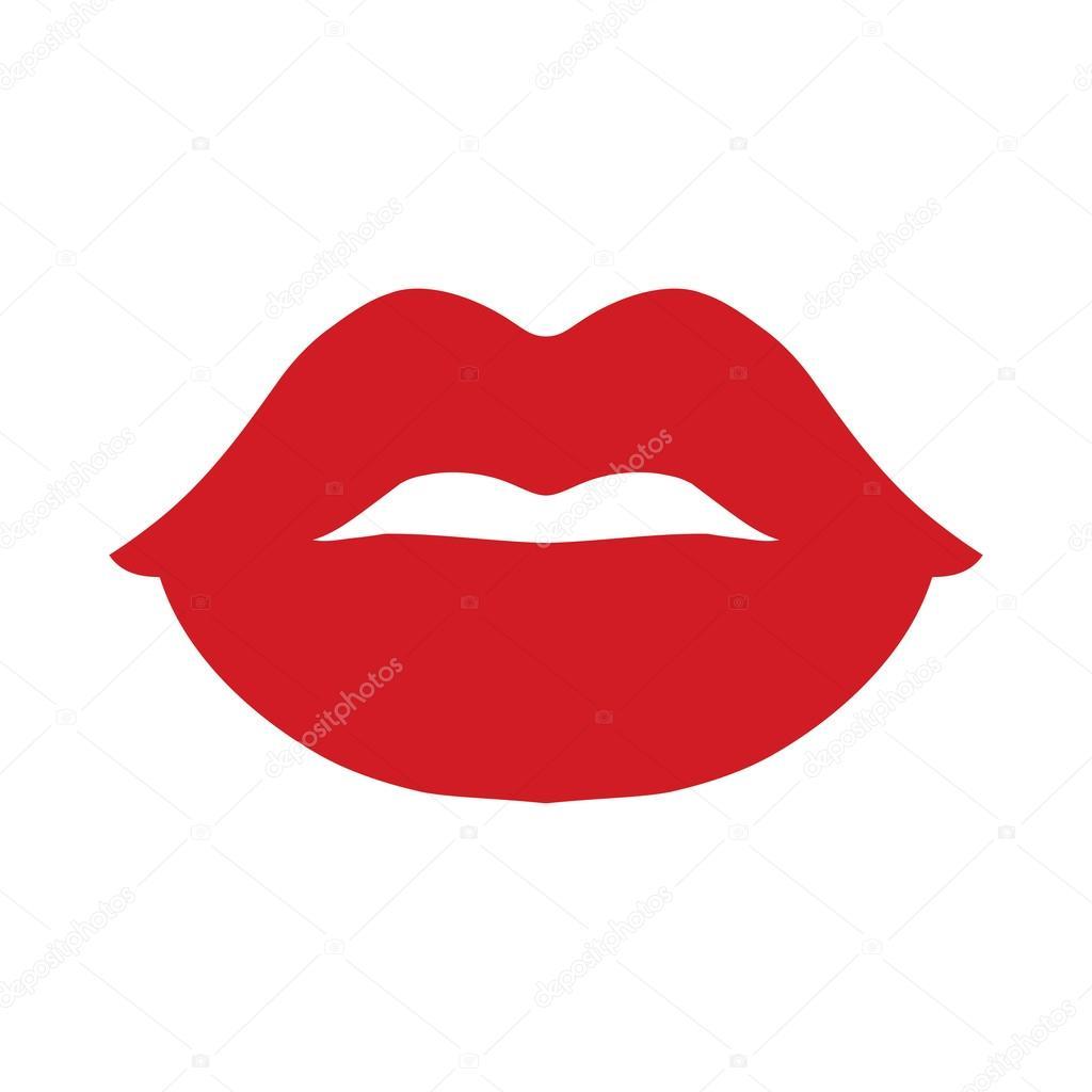 Sexy Lips Vector Icon — Stock Vector © briangoff #99960734