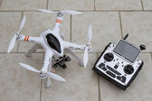Quadcopter drone — Stock Photo