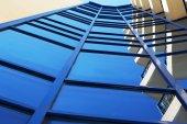 Photos buildings of glass — Stock Photo
