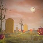 décor d'Halloween - rendu 3d — Photo #54250147