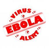 Pieczęć ebola — Zdjęcie stockowe