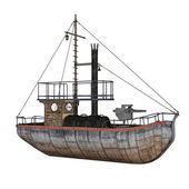 Patrol boat - 3D render — Photo