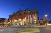 Grand Theatre or Big Theater, Geneva, Switzerland — Foto de Stock