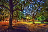 Bastions park, Geneva, Switzerland, HDR — Stock Photo