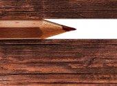 Ołówek drewniany — Zdjęcie stockowe