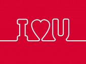 I love you  — Stock Photo