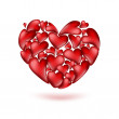 Red hearts — Stock Photo #65688061