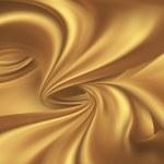 Golden silk — Stock Photo #75389331