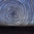 Night Exposure Star Trails of the Sky — Stock Photo #63151427