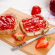 Delicious strawberry jam — Stock Photo #54476693