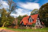 Old german country house — Stock Photo