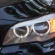 Headlights of 7 series BMW — Stock Photo #56270403