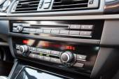 Climate control in a modern car — Stock Photo