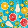 Set of colorful fruits — Stock Photo #59529765