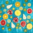 Set of colorful fruits — Stock Photo #59529825
