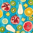 Set of colorful fruits — Stock Photo #59529831