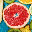 Set of colorful fruits — Stock Photo #59529911