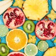 Set of colorful fruits — Stock Photo #59529913