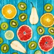 Set of colorful fruits — Stock Photo #60330283
