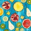 Set of colorful fruits — Stock Photo #60330289