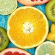 Set of colorful fruits — Stock Photo #60330319