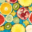 Set of colorful fruits — Stock Photo #60330321