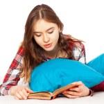 Teenage girl in her room — Stock Photo #65151293
