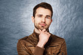 Studio portrait of a young man — Stock Photo