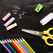 School and office accessories — Stock Photo #73877485