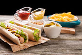 Hotdogs — Stockfoto