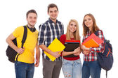 Group of happy young people — Stock Photo