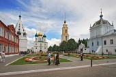 Cathedral square in Kolomna Kremlin — Stock Photo