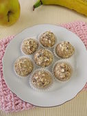 Energy balls from roasted barley flour — Foto Stock