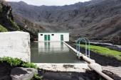 Seljalandslaug swimming pool — Stock Photo