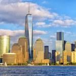 Lower Manhattan skyline panorama — Stock Photo #54571245