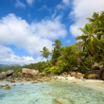 Seychelles beach — Stock Photo #58141417