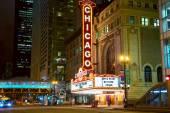 Chicago theater — Zdjęcie stockowe