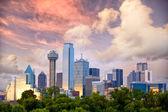 Dallas at sunset — Stock Photo