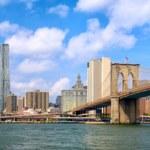 Lower Manhattan panorama — Stock Photo #61363803