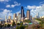 Seattle stadsgezicht — Stockfoto