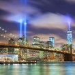 Manhattan in memory of September 11 — Stock Photo #79506708