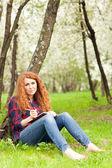 女流作家 — ストック写真