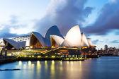 Lo scenario della sydney opera house — Foto Stock