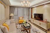 Luxe woonkamer interieur — Stockfoto